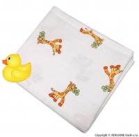 Dětská plenková osuška - Žirafky 1ks