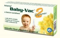Kojenecká odsávačka hlenů - Arianna Baby-vac 2 s čisticím kartáčkem