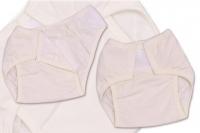 Plenkové kalhotky TERJAN - smetanová