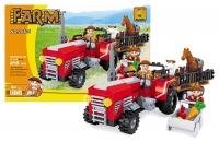 Stavebnice AUSINI farma - traktor velký 215 dílů