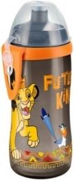 Lahvička NUK Junior Cup láhev 300 ml - Lví král