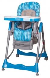 Jídelní židlička COTO BABY Mambo Turquoise
