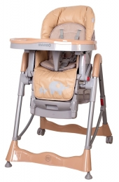 Jídelní židlička COTO BABY Mambo 2017 Beige - SLONÍCÍ