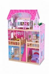 Dřevěný domek pro panenky ECO TOYS
