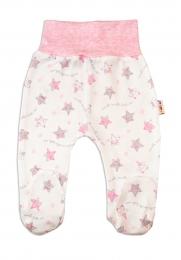 Polodupačky pro předčasně narozená miminka Baby Nellys ® - Hvězdičky růžové