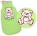 Spací vak Medvídek TEDDY Baby Nellys - sv. zelený vel. 1