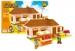 Stavebnice AUSINI farma a stánek, 293 dílů