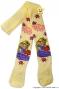 Bavlněné punčocháčky Disney Locika - žluté