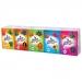 Papírové kapesníky Linteo Kids mini 10x10ks, bílé, 3-vrstvé