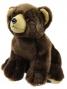Plyšový medvěd sedící, 18 cm