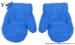 Zimní kojenecké chlapecké froté rukavičky YO - modré