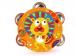 Dětská tamburína s motivem lva